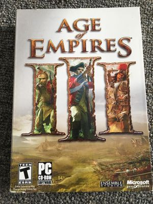Age of empires 3 pc game for Sale in Lima, OH