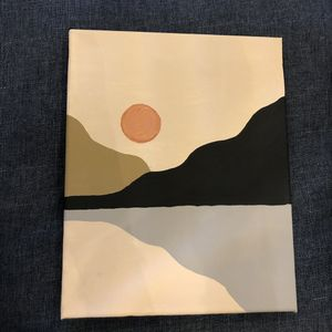 Hand made painting on canvas for Sale in San Jose, CA