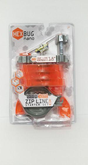 Hexbug Nano Micro Robotic Looking Creatures Zip Line 23 pc Starter Set for Sale in Mesa, AZ