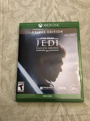 Star Wars Jedi Fallen Order Xbox One LIKE NEW for Sale in Aurora, IL