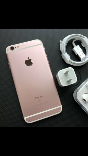 iPhone 6S, 64GB - just like new, factory unlocked, clean IMEI for Sale in Springfield, VA