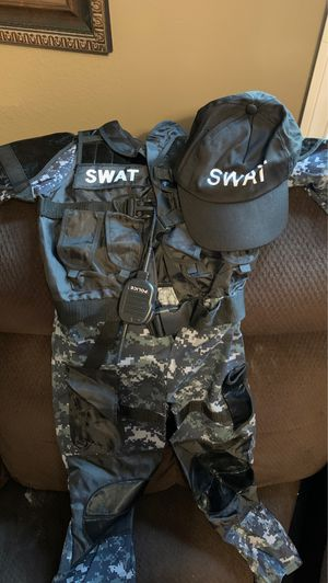Swat police costume for Sale in Riverside, CA