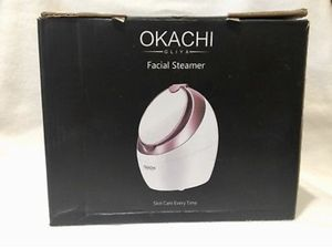 OKACHI GLIYA Facial Steamer - Rose Gold - New Open Box for Sale in Fontana, CA