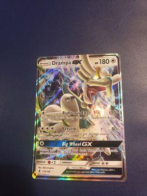 Drampa GX pokemon card for Sale in Modesto, CA
