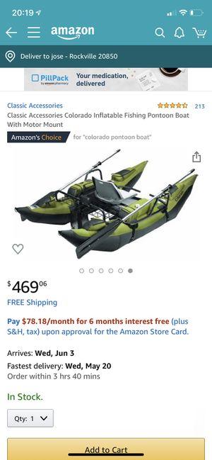 Colorado pontoon boat for Sale in Rockville, MD