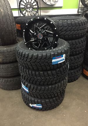 17 inch rims and mt tires for Sale in Gresham, OR