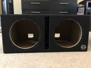 10in Subwoofer Box for Sale in Salem, OR