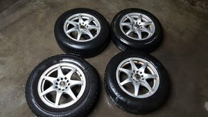5 lug universal rims for Sale in Portland, OR
