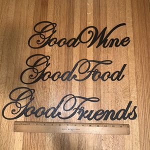 Good Wine, Good Food, Good Friends for Sale in North Kingstown, RI