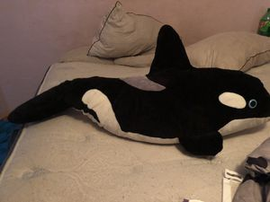 Killer whale stuffed animal for Sale in Salt Lake City, UT