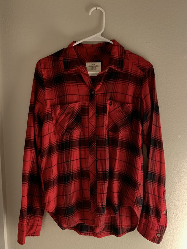 Abercrombie & Fitch button up shirt size small women
