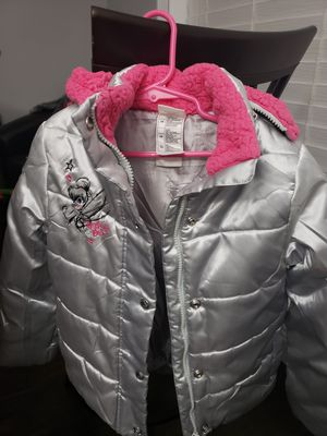 Girls Disney Tinkerbell Puffy Jacket Size 5/6 for Sale in Jacksonville, FL