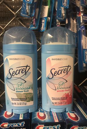 Secret Invisible Solid, 2.6oz for Sale in Odenton, MD
