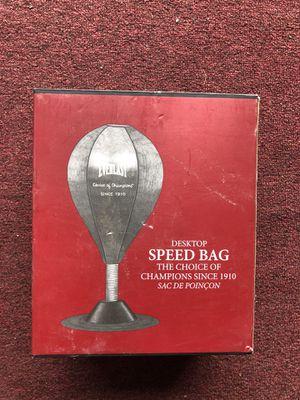Everlast desktop speed bag for Sale in Saugus, MA