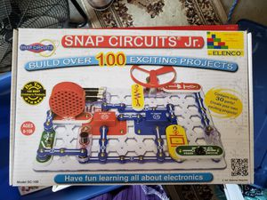 Board game ( snap circuits Jr ) for Sale in Tracy, CA