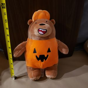 "New ~12"" We Bare Bears Grizz Halloween Pumpkin Costume for Sale in San Diego, CA"