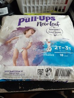 Pull Ups New Leaf Size 2t-3t for Sale in Victorville,  CA