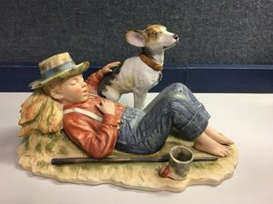 Norman Rockwell Boy With Dog for Sale in Chicago, IL