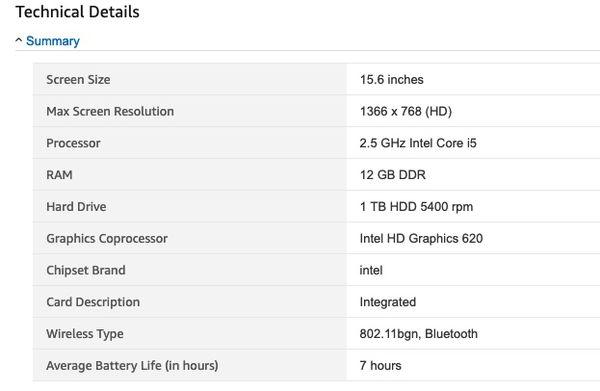 """2017 HP Pavilion 15.6"""" Laptop Excellent Condition"""