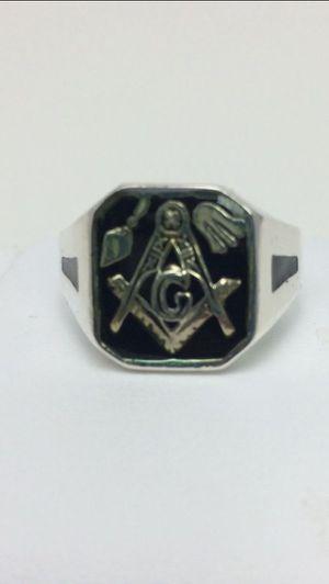 Masonic Ring Plata 925 size 10.5 for Sale in Hialeah, FL