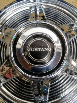 "Mustang 1965 13"" Original Factoy Hubcaps Set of 4 for Sale in Kansas City, MO"