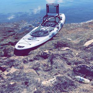 12' SUP FISHING KAYAK for Sale in San Antonio, TX