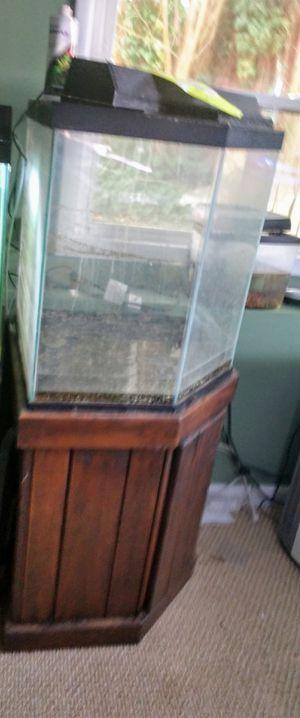 46g Fish Tank corner for Sale in Dover, DE