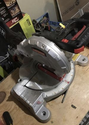 7 1/4 compound miter saw for Sale in Dedham, MA