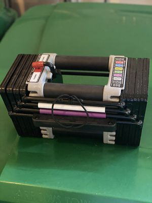 Powerblock Elite (Single) 50lb Dumbbell Expandable to 70-90 for Sale in Old Bridge Township, NJ