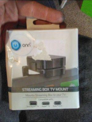Onn streaming box TV mount for Sale in Boyce, LA