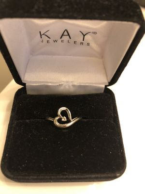 10 karat white gold promise ring. Size 7 for Sale in Manheim, PA