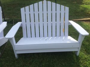 Loveseat Adirondack chair for Sale in Charlotte, NC