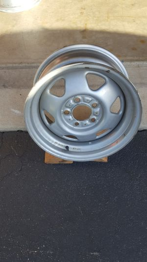 """15"""" × 7"""" steel wheel on a 4.5"""" bolt circle for Sale in Plainfield, IL"""