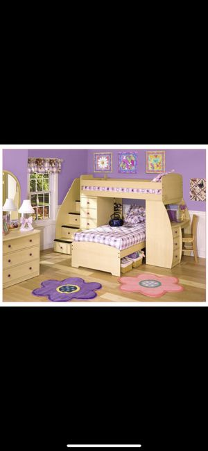 Bunk Bed W/ Stairs for Sale in Clifton, NJ