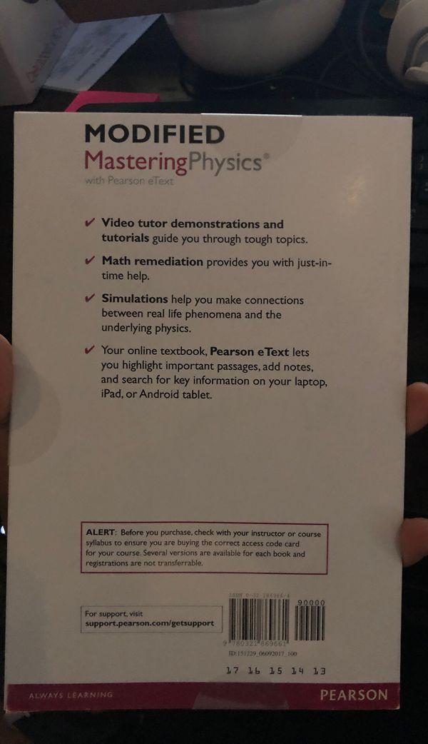 MasteringPhysics Student Access Code