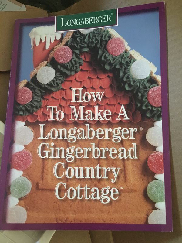 Longaberger Pottery 1995 Country Cottage Mold