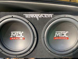 Mtx Audio speakers for Sale in Portland, OR