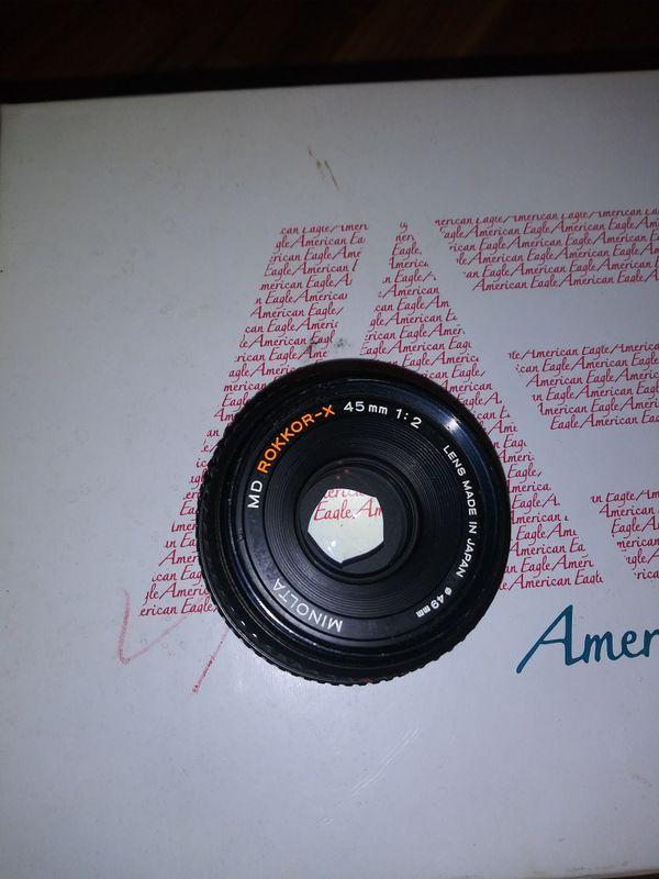 Minolta Xr7 professional 35mm camera