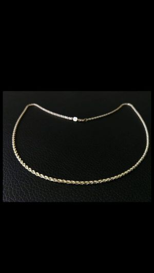 Gold 14K rope chain for Sale in Los Angeles, CA
