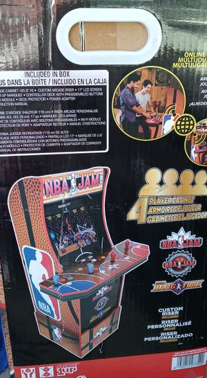 Nba jam arcade game brand new in the box for Sale in Tempe, AZ
