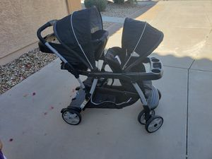 Graco ready to grow double stroller for Sale in Tolleson, AZ