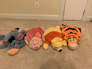 Winnie the Pooh and friends plush toys for Sale in Falls Church, VA