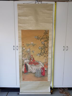 Antique Asian/ Chinese Scroll Painting for Sale in Pittsburg, CA