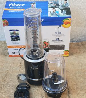 NEW OSTER Blend*Active 2-in-1 Blender and Food Chopper for Sale in Los Angeles, CA