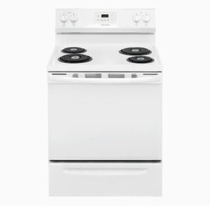 Brand New In Unopened Box Frigidaire White COILTOP Stove/ Range.$370 DELIVERED:INSTALLED.$340 Picked Up.1 Year Manufacturers Warranty for Sale in Newport News, VA