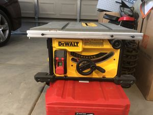 DEWALT TABLE SAW! for Sale in Victorville, CA