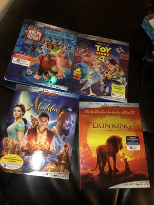 Blue-Ray DVD Disney movies for Sale in Highland, CA