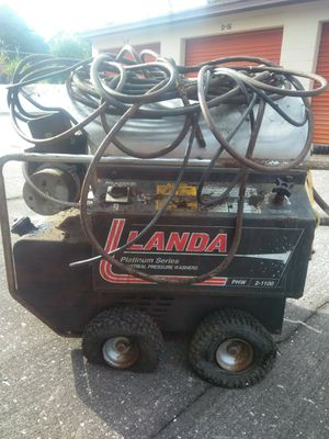 Landa industrial pressure washer for Sale in Lake Wales, FL