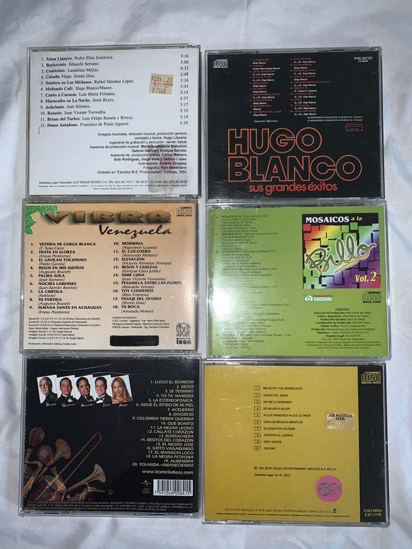 Venezuelan music cd's