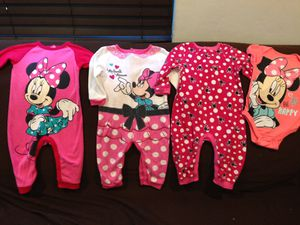 Really cute Disney baby onesies for Sale in South Gate, CA